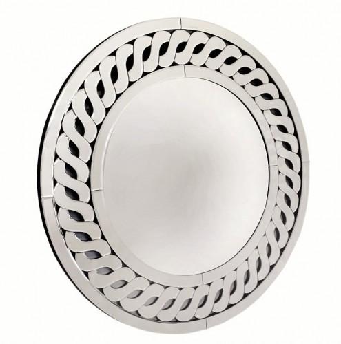 Lustro Dekoracyjne Okrągłe 80x80