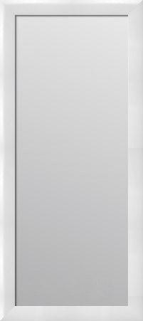 Nowoczesne Lustro Do Przedpokoju Biały Połysk 180x80