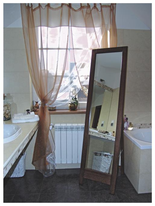 Lustro Stojące Do Sypialni Sklepu Garderoby Różne Kolory Ram